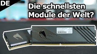 Hammer: 5000 MHz RAM Takt mit RYZEN 3900X