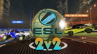 Дикий пот. Игра против топ СНГ команды! | ESL 2v2 Round 3&4 | Rocket League
