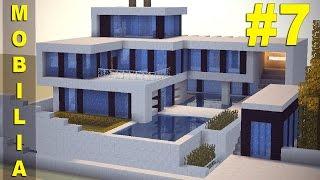 Minecraft Tutorial: Casa Super Moderna - MOBILIA