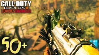 THE HARDEST MAP EVER: SHANGRI-LA ROUND 50 ATTEMPT! - BLACK OPS 3 ZOMBIES CHRONICLES GAMEPLAY!