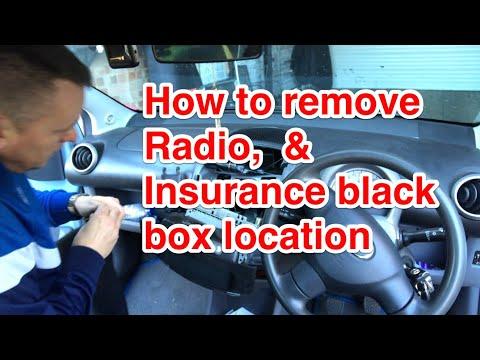 Insurance Black Box Location, & How To Remove Radio Peugeot 107, Citroen C1, & Toyota AYGO