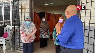 2.8.2021 | Datuk Zaizalnizam jemput mangsa kebakaran ke Rumah Prihatin