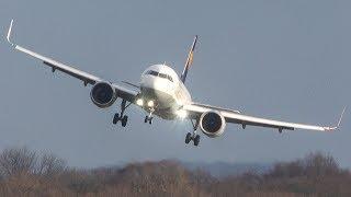 WIND GUST LANDINGS - AIRPLANES fighting with WIND SHEARS (4K)