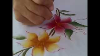 Pintura em tecido Mulheres criativas
