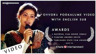 Autograph | Ovvoru Pookalume Video With English Subtitle | Cheran, Sneha