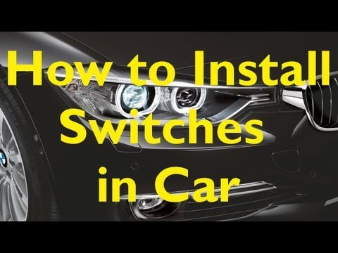 ★How To Install Switches In Your Car★ (Easy Steps)