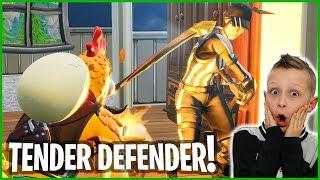 WINTER ROYALE with TENDER DEFENDER!