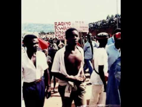 First demonstration in Rwanda-Kigali 17 Nov. 1991
