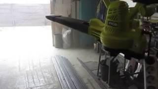 воздуходувка RYOBI 3000W или как быстро прибраться в гараже