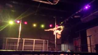 Arlene Caffrey - All Ireland Pole Dance Championships 2013 (3rd Place)