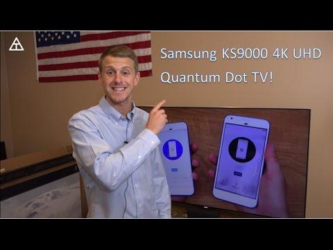 Samsung 4K SUHD TV Setup! (KS9000 65-inch)