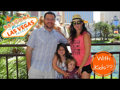 Kid Friendly Vacation in VEGAS!? | Believe it or not, Las Vegas is Great for Families