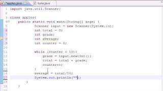 Java Programming Tutorial - 21 - Simple Averaging Program