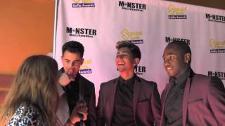 Zach Matari and Beat Club Crew Interview at Social slam Selfie Awards
