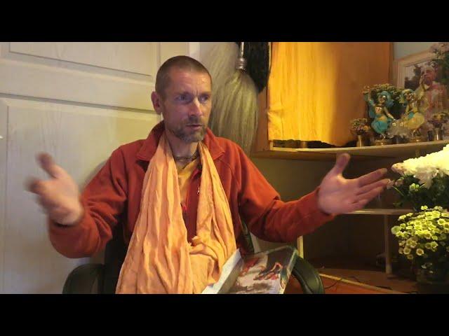 Пурушоттама месяц. Какие обеты? Е.С. Ананда Вардхана Свами - Монастырь Святого Имени, 16.09.2020
