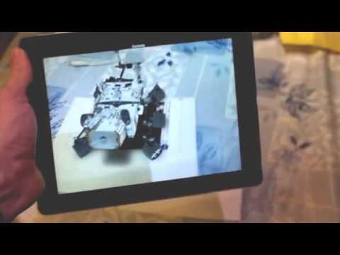 NASA JPL Spacecraft 3D, Augmented reality.