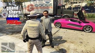 GTA 5 FiveM Police Roleplay - Ivan The Drunk Russian - KUFFS Multiplayer #173