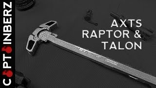 AXTS Raptor Charging Handle/Talon Ambidextrous Safety: First Impressions