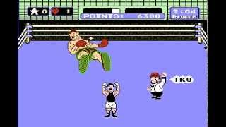 Punch-out!! Dream Fight vs Mr. Dream completed Nintendo Nes game