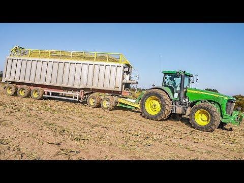 CLAAS JAGUAR 970 | John Deere u. CaseIH Traktoren | Gut Hohen Luckow | New Holland Knicklenker