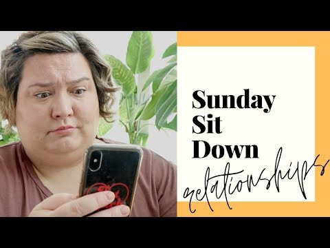 Dating while FAT, Mental Health & Relationships | #SUNDAYSITDOWN thumbnail