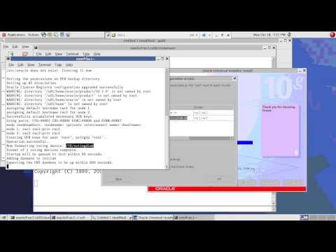 RAC Installation with OCFS2