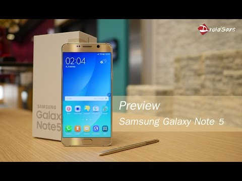 Preview : พรีวิว Samsung Galaxy Note 5