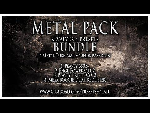 METAL PACK - Revalver 4 Presets Bundle @PRESETSFORALL