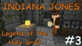 Indiana Jones Legend of the Holy Grail | Minecraft xbox 360 Adventure Map #3 | With Map Download