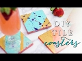 How to Make a Drink Coaster | DIY Tile Coasters