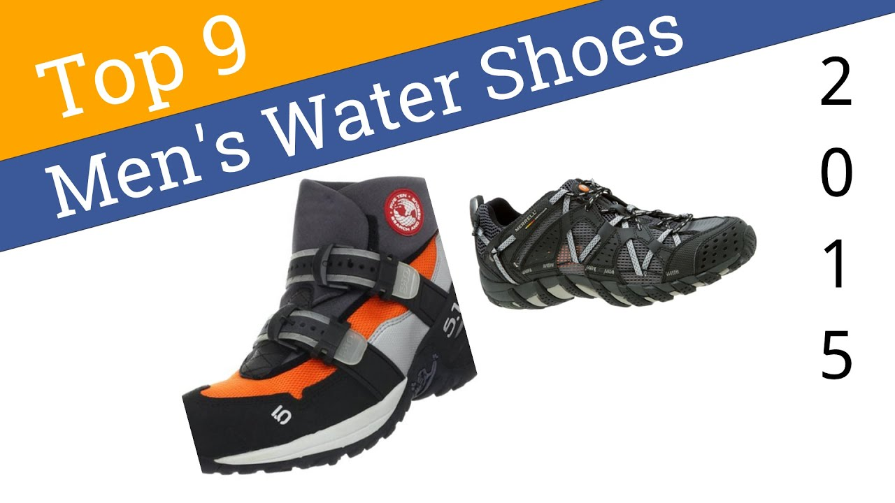 9 Best Men's Water Shoes 2015 - YouTube