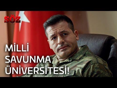 Söz   28.Bölüm - Milli Savunma Üniversitesi!