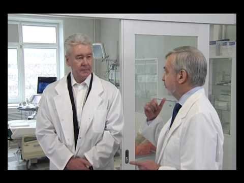 Посещение городской клинической больницы № 23 имени Медсантруд
