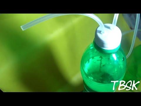 How to make an air pump for aquarium. uses no electricity