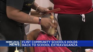 Flint Community Schools holds back to school extravaganza