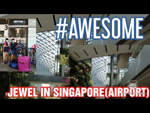 ALL AROUND THE JEWEL AIRPORT IN SINGAPORE