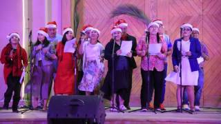 Philippino community   Christmas song @ Our Lady of Rosary Church Doha