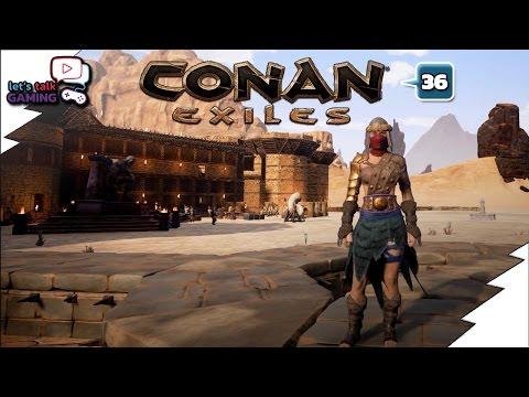 Conan Exiles - Hyena Fur Armor Disaster - E36