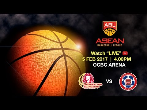 Singapore Slingers vs Hong Kong Eastern Long Lions 東方龍獅籃球隊   ASEAN Basketball League 2016 - 2017