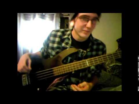 A Skylit Drive - Shadows (bass cover/audition)