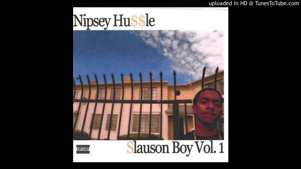 01-Nipsey Hussle-Slauson Boy-Slauson Boy Vol  1