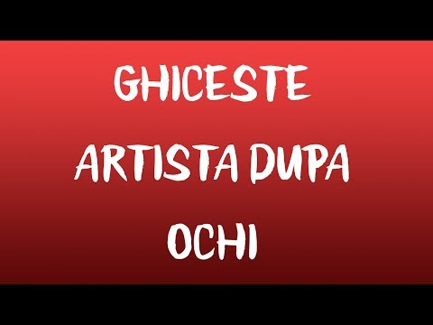 Ghiceste artista dupa ochi | Challenge #1
