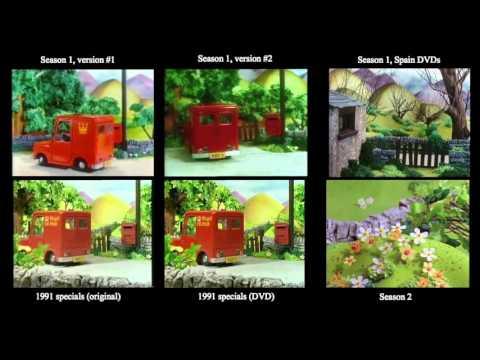 Postman Pat - Classic Series Intro Comparison (1981-1996)