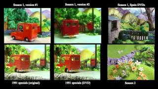 Postman Pat - Classic Series Intro Comparison (1981-1996)
