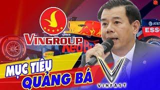 VINGROUP Đem Giải Đua F1 Về Việt Nam, Không Đặt Mục Tiêu Lợi Nhuận Lên Hàng Đầu