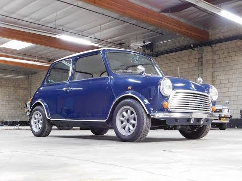 1989 Austin Rover Mini Mayfair 1000 - YouTube
