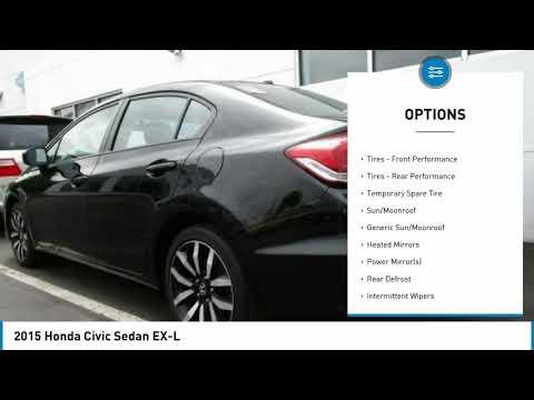 2015 Honda Civic Sedan Edison NJ 10647P