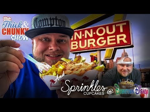In N Out and Sprinkles Cupcakes (in Downtown Disney) - TTaCS