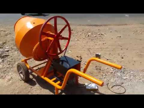Portable Concrete Mixer Machine