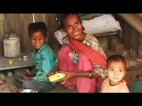 Hunger pangs are eternal companions of these slum children